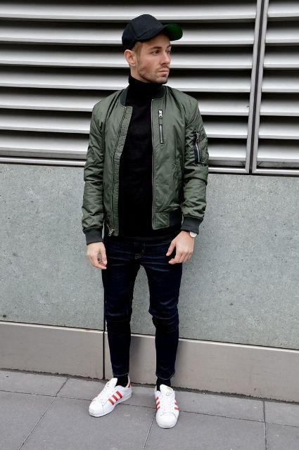 Best 25+ Bomber jacket men ideas on Pinterest | Bomber jacket men outfit Military bomber jacket ...