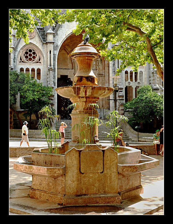 Fountain In Soller - Mallorca by skarzynscy.deviantart.com on @deviantART
