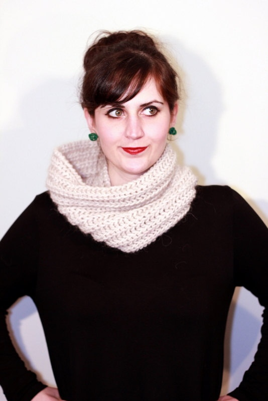 The one with the single offwhite cowl by winkitywink on Etsy, €20.00