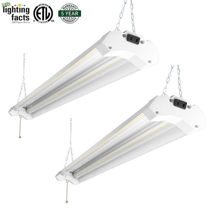 5000 Lumen 4000k Led Garage Shop Light Fixture Hanging: Best 25+ Led Shop Lights Ideas On Pinterest