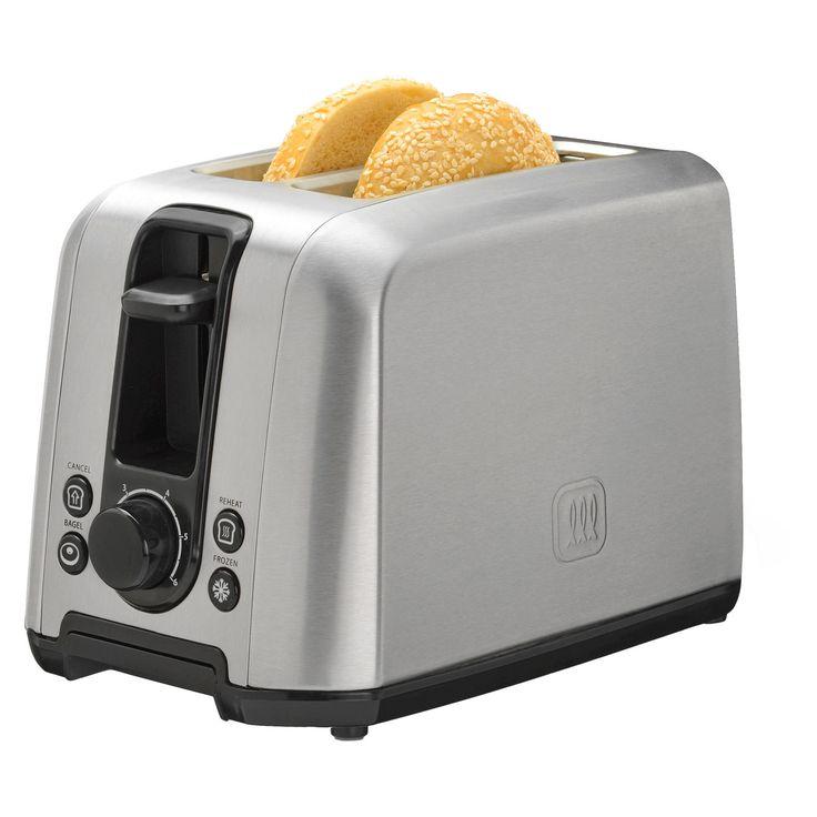 Toastmaster 2 Slice Stainless Steel (Silver) Toaster with Frozen Button
