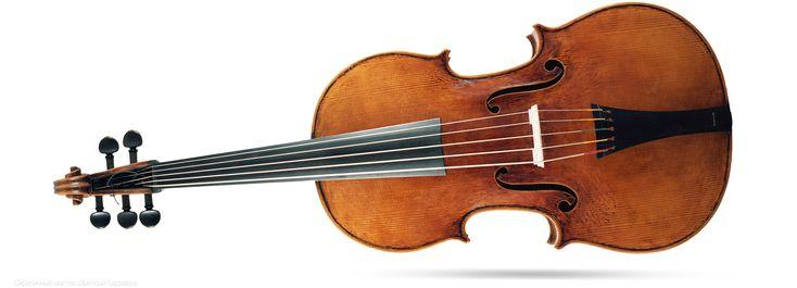 Violoncello da spalla  виола да спалла верхняя дека