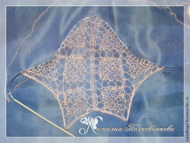 Небольшой, но подробный МК по вязанию квадратной шали - Ярмарка Мастеров - ручная работа, handmade