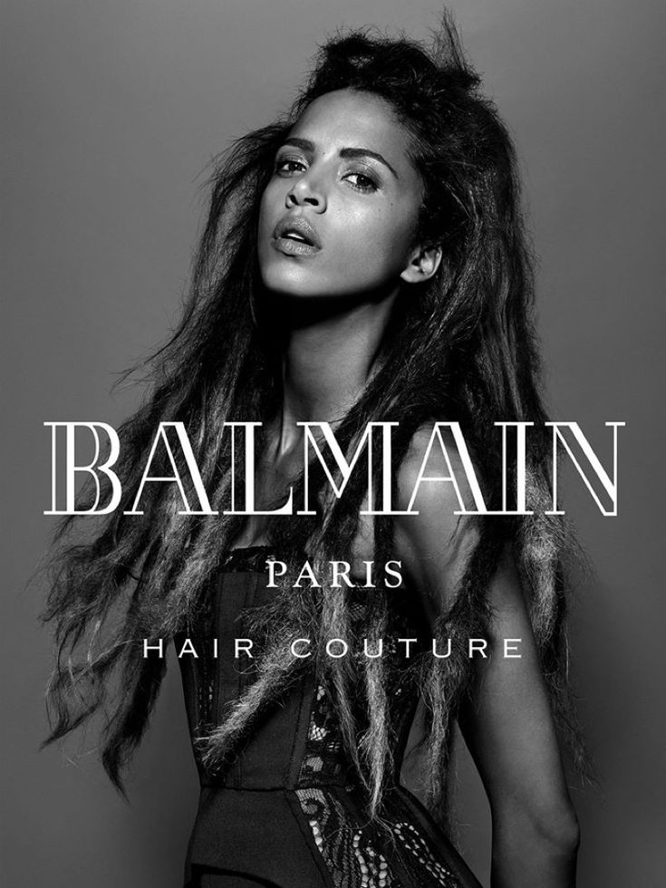 Balmain Hair Couture features natural inspired dreadlocks in winter 2016 campaign