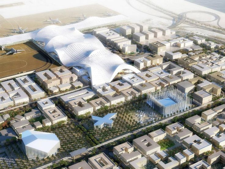 OMA  Doha , aeropuerto master plan