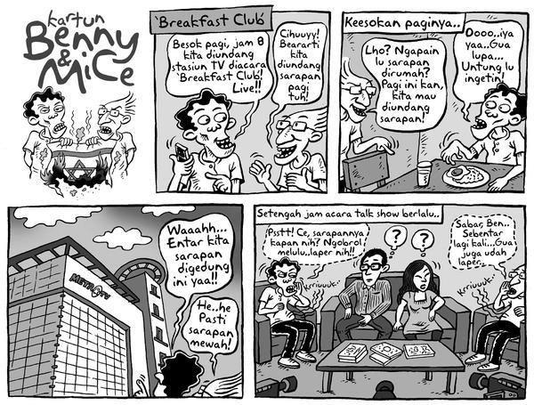 Benny & Mice, Kompas 25 Januari 2009: Breakfast Club