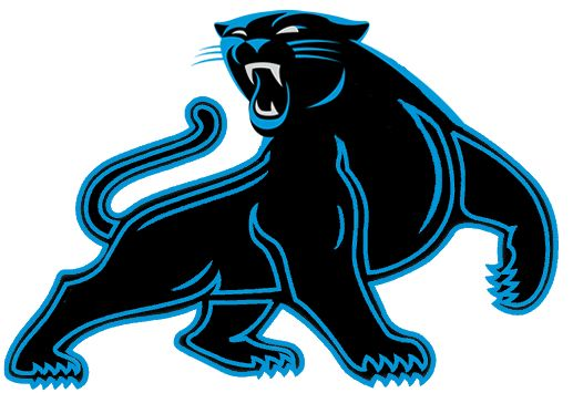 Panther Logo Clip Art | Carolina Panthers new 2012 custom full body panther team logo graphic ...