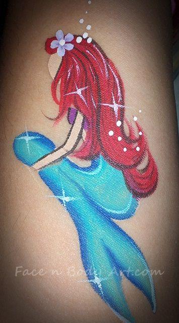 the little mermaid face painter | Flickr: partage de photos!