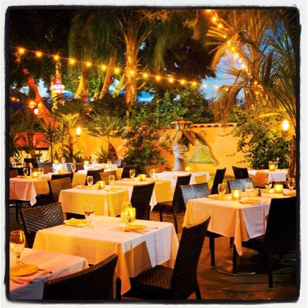 Spotlight On Palm Springs Style Outdoor Areas: Great Restaurant With Delicious Food And A Fun