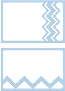 Silhouette Design Store - View Design #28907: cards - chevron