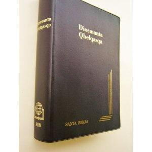 Bolivian Quechua Bible / Diosmanta Qhelqasqa / Santa Biblia / Biblia Quechua Bolivia QU052PC / Quechua Speakers in Bolivia: 2,100,000 (2001 census)   $64.99