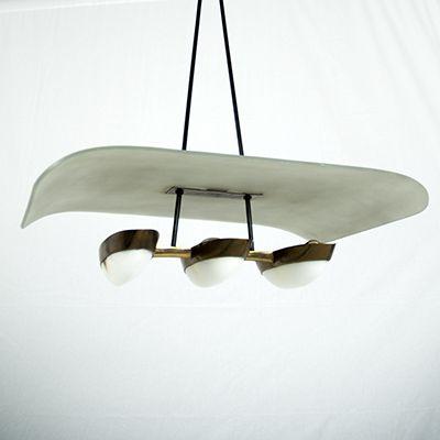 Beautiful Arredoluce chandelier | Cabina Design Gallery