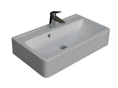Umywalka nablatowa ścienna 60x40 śruby gratis