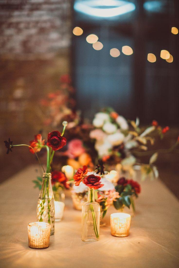 Urban New York Wedding Celebration at Greenpoint Loft - MODwedding
