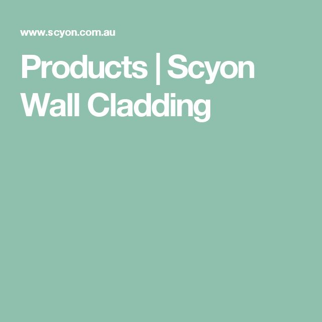 Products | Scyon Wall Cladding