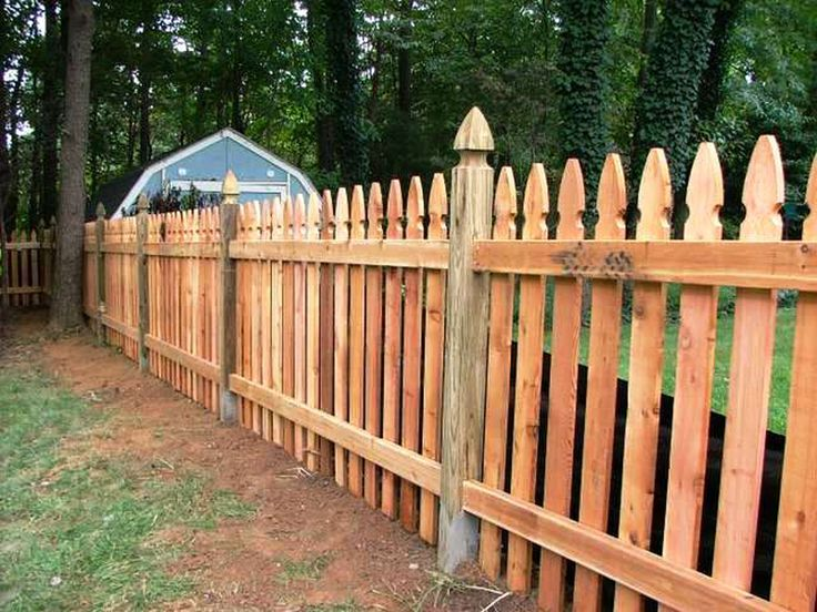 4 foot picket fence french gothic - Google Search