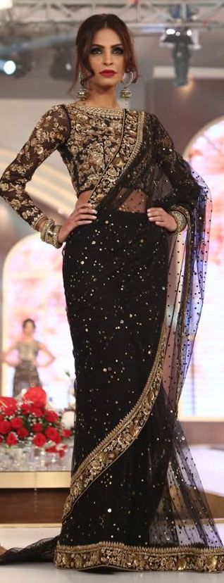 black and gold! | weddingz.in | India's Largest Wedding Company |