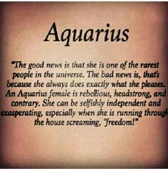 aquarius style haha yes yes yes