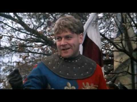 Kenneth Branagh - Henry V - Speech - Eve of Saint Crispin's Day - HD  (He's better than Olivier - don't tell anyone)  http://www.britsunited.blogspot.com