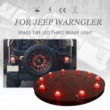 For Jeep Wrangler 3rd Brake Light, Spare Tire LED Light JEEP JK Accessories
