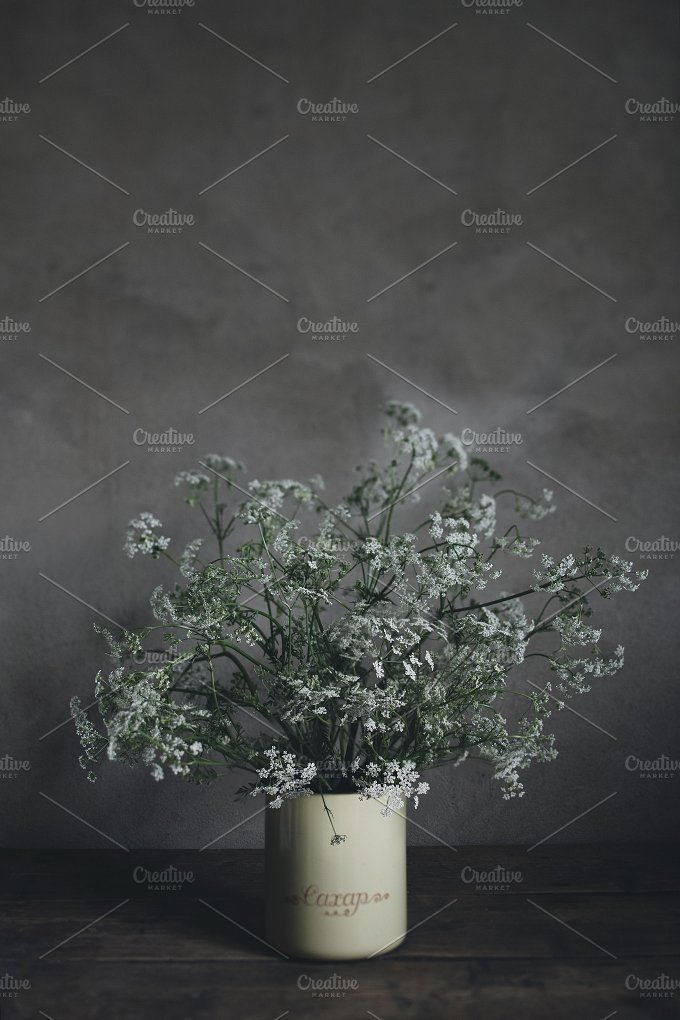Bouquet of wildflowers by OlgaPilnik on @creativemarket