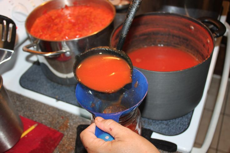 Easy recipes for canning tomato juice