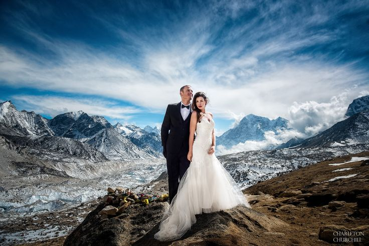 ADVENTURE WEDDING, MT. EVEREST BASE CAMPJAMES AND ASHLEY ELOPEMENT, MARCH 16, 2017ADVENTURE WEDDING PHOTOGRAPHER: CHARLETON CHURCHILLWE DID IT. James and Ashley married at Mt. Everest Base Camp (EBC) and became the first couple to exchange vows in a wedding dress and tux. And I,…