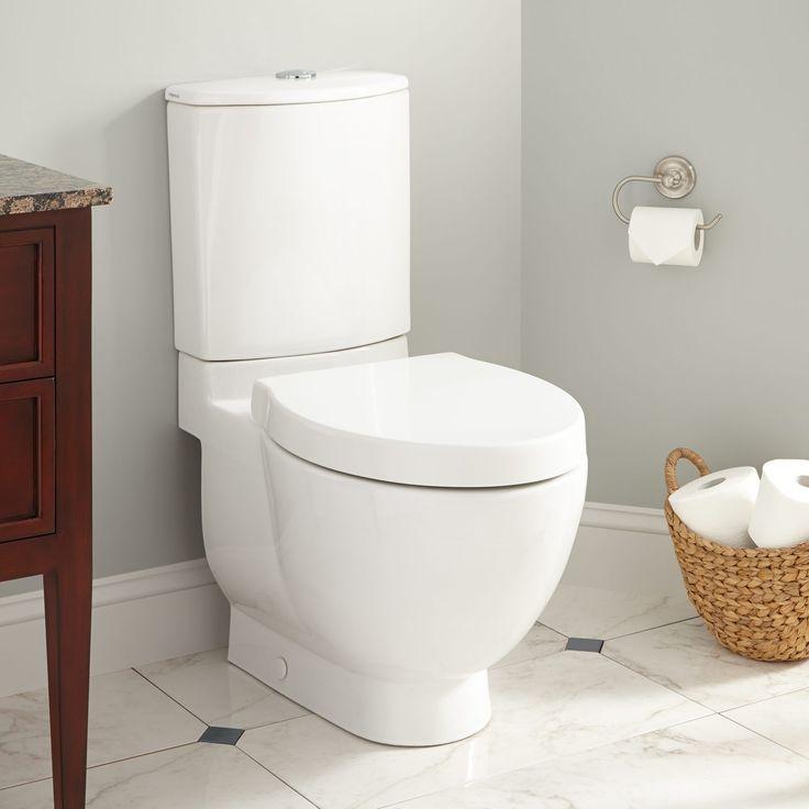 Sonnet Dual-Flush Toilet with Seat - White