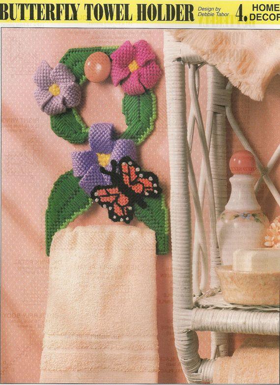 Butterfly Towel Holder