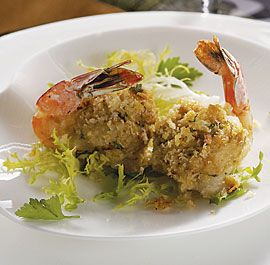 Crab & Scallion Stuffed Shrimp by Susie Middleton - FineCooking.com