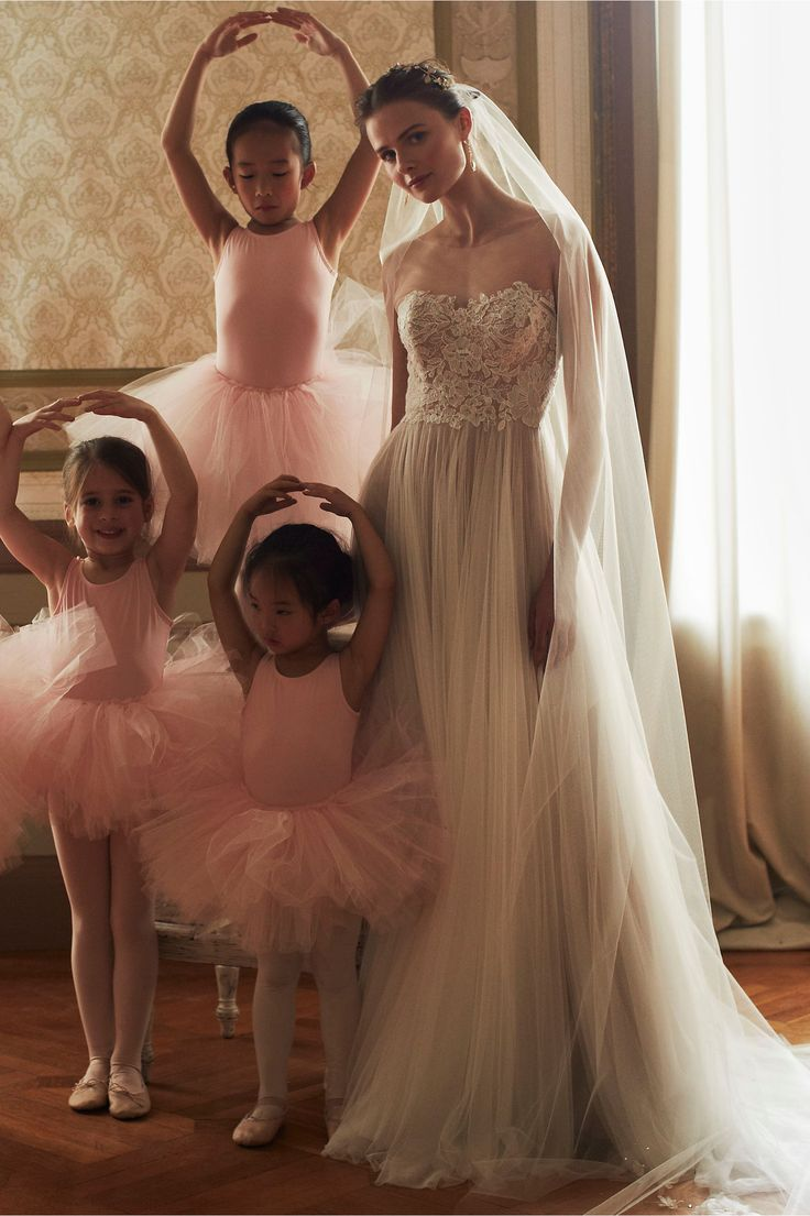 Love Marley Penelope Gown from BHLDN Watters & Wtoo Bridal Collection available now at www.mirabridal.com