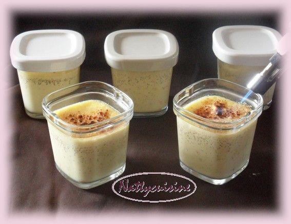 Crèmes brûlées rapide (multi délice) - Le blog de nattycuisine.over-blog.com