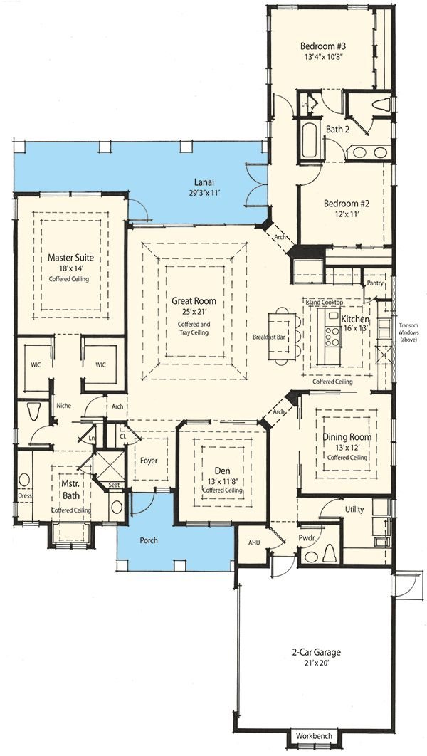 1000 ideas about narrow lot house plans on pinterest for Narrow lot luxury house plans