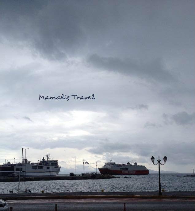 Theologos P. and Evia Star  Rafina Port,Greece   -September 2015