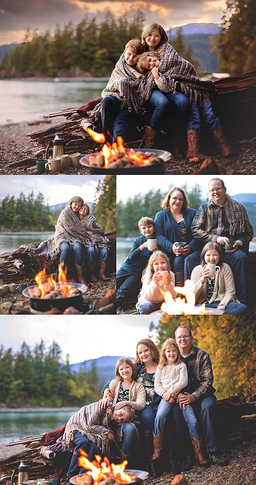 Campfire Family Photography