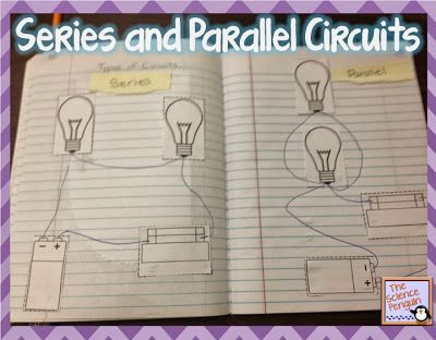Series and Parallel Circuits Freebie