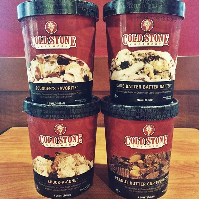 From our freezer to yours! You can find these tasty take-home delights in the freezer display at your local Cold Stone Creamery. by coldstone
