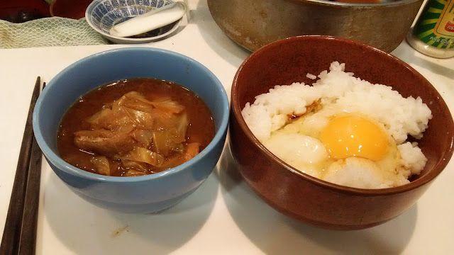 ホラー漫画家・神田森莉 不味そう飯: 最近は蛇のように卵ばかり食っている。生卵ご飯と前夜の汁物。この世には白い卵と茶色い卵があるが、中の色...