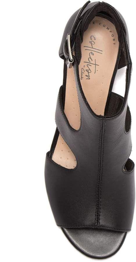2dec6e0b6f7 Clarks Deva Heidi Heeled Sandal #Deva#Clarks#Heidi | Fall Leggings ...