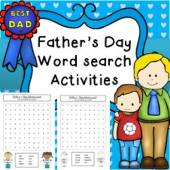father's day activities for toddlers