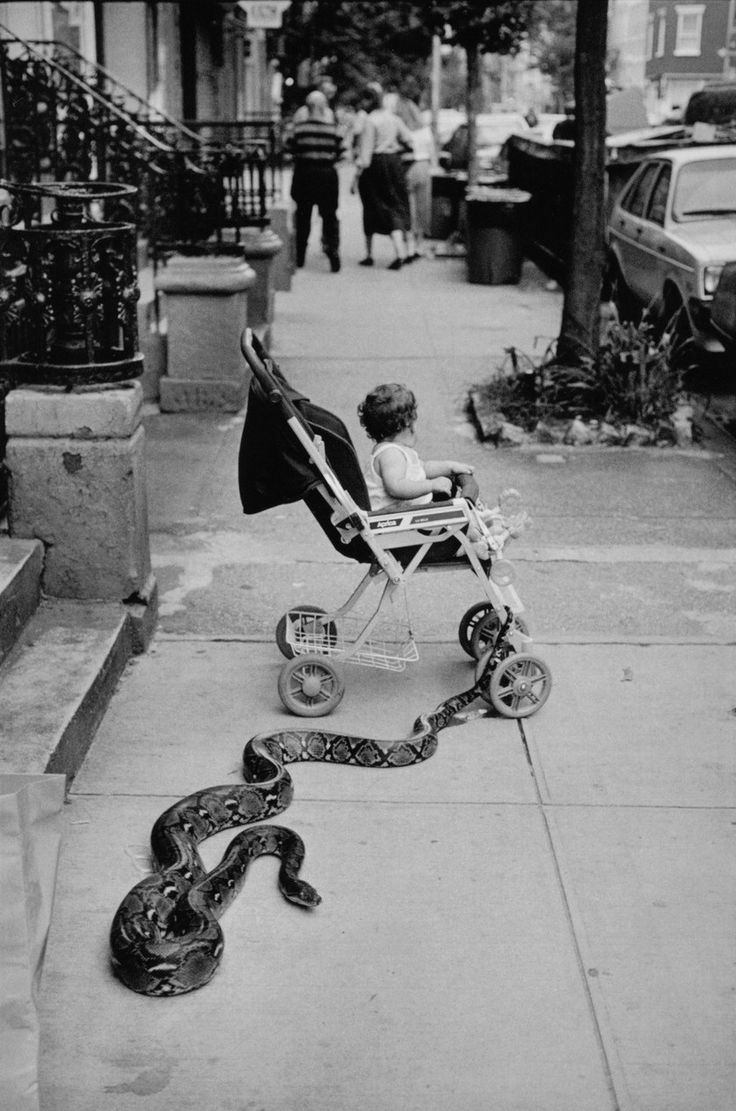 Leonard Freed Greenwich Village, New York City, 1985