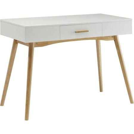Upstairs Guest Bedroom  Bring Contemporary Appeal To Your Home Office Or  Den With This Clean Lined Writing Desk, Showcasing A Bamboo Drawer Handle  And Piano ...