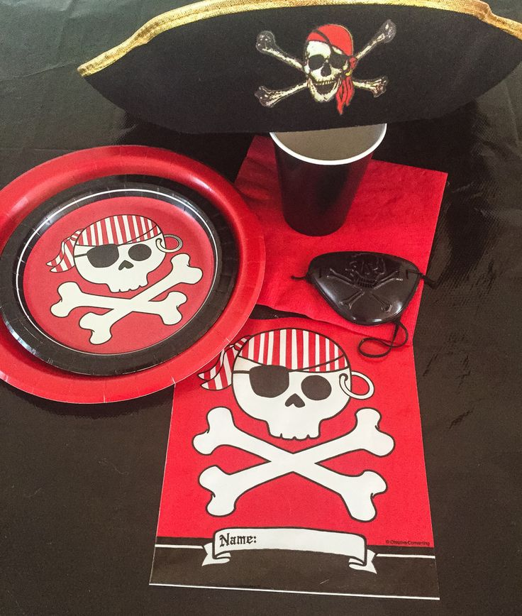 Pirate Party Box Additional Child