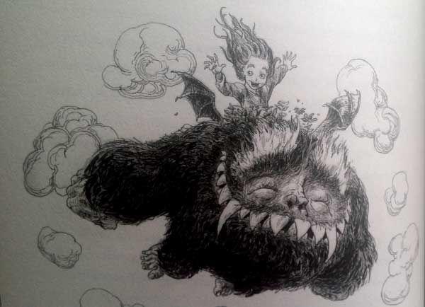 Lo Yark è un mostro che divora i bambini buoni e ben educati, ma che ha gravi problemi di stomaco! Un romanzo ironico dallo stile unico