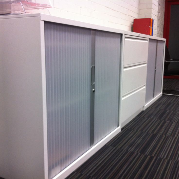 Formco steel office storage units.  http://www.endoofficefurniture.com.au/products/range/office-storage-cupboards