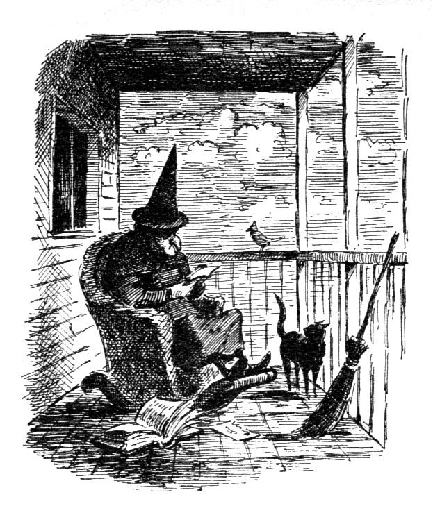 """""""The Witch Family"""" written by Eleanor Estes, illustrated by Edward Ardizzone (full post: http://andeverythingelsetoo.blogspot.com/2012/07/witch-family.html)"""