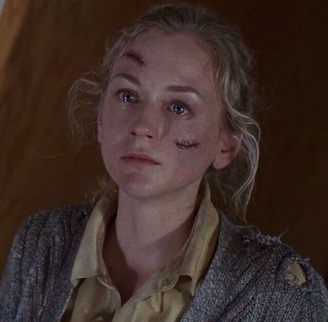 This is the face I make when someone asks me if I wanted to watch the walking dead but without the welling tears