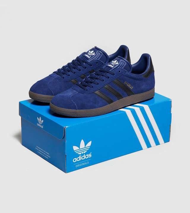 adidas Originals Gazelle blue suede