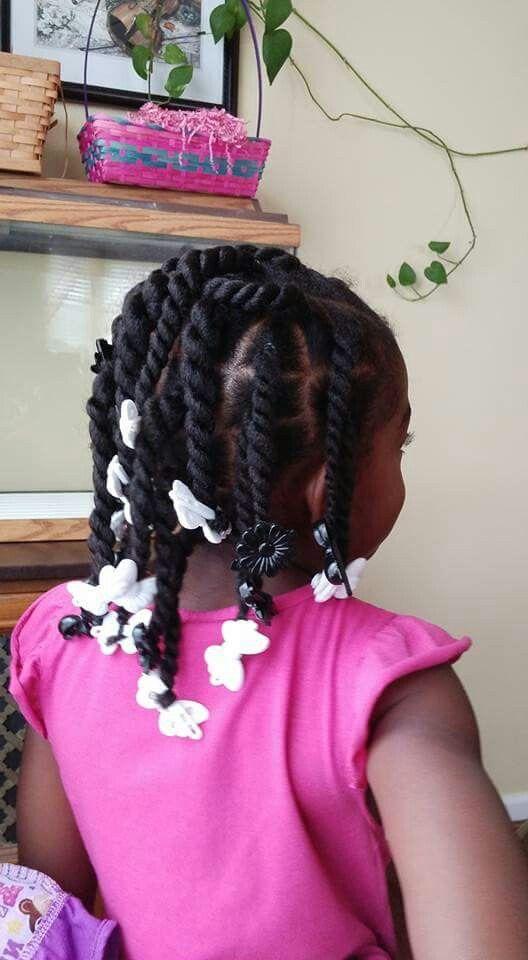 kids two-strand twists