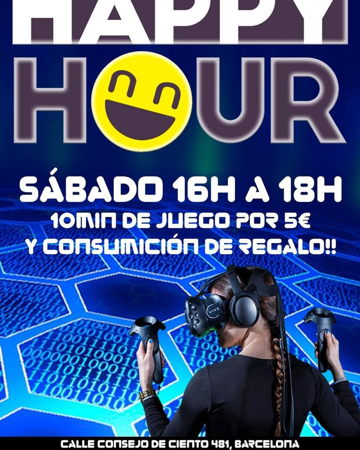 Este fin de semana tenemos una oferta!! Por 10 minutos de juego en nuestra sala te regalamos la consumición y pica pica gratuito!!! No te quedes sin ella y reserva tu tiempo Reserva en el 679 76 58 24 o en http://www.vrzonebcn.com . . #realidadvirtual #barcelona #vr #realidadvirtualbarcelona #virtualreality #htcvive #rv #barcelonagram #barcelonamola #htc #vrzonebcn #vrzone #bcn #igersbarcelona #barcelonacity #barcelonainspira #travel #ig_barcelona #love #igersbcn #loves_barcelona #catalunya…